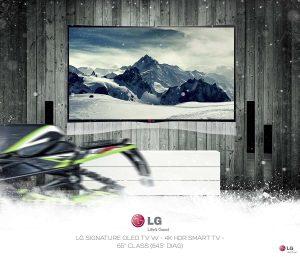 طراحی بیلبورد های تبلیغاتی ال جی LG