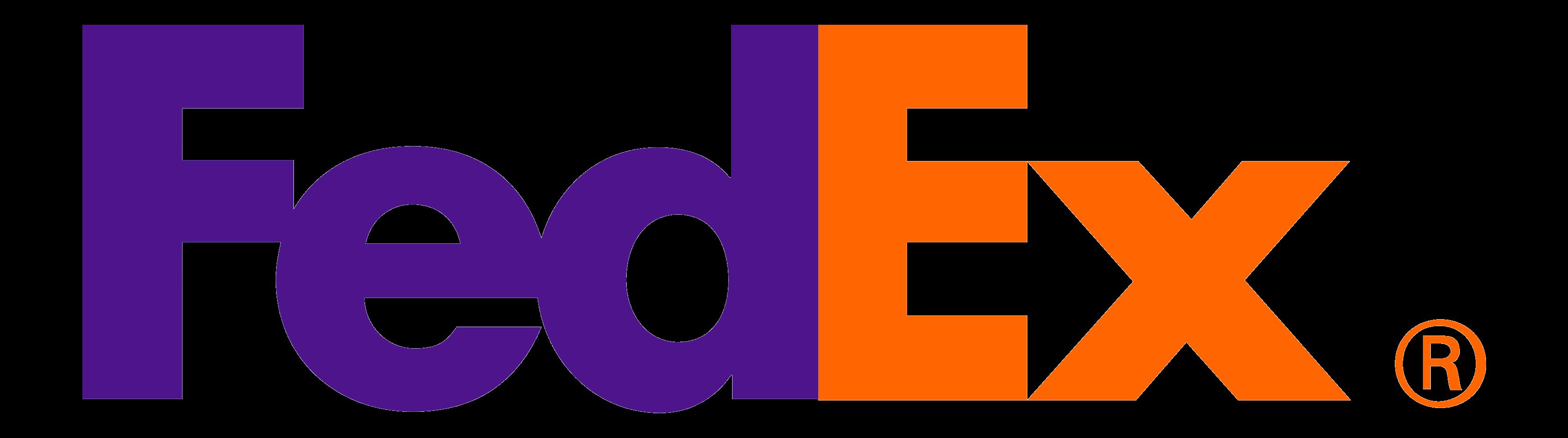 فضای منفی در طراحی لوگو فدکس