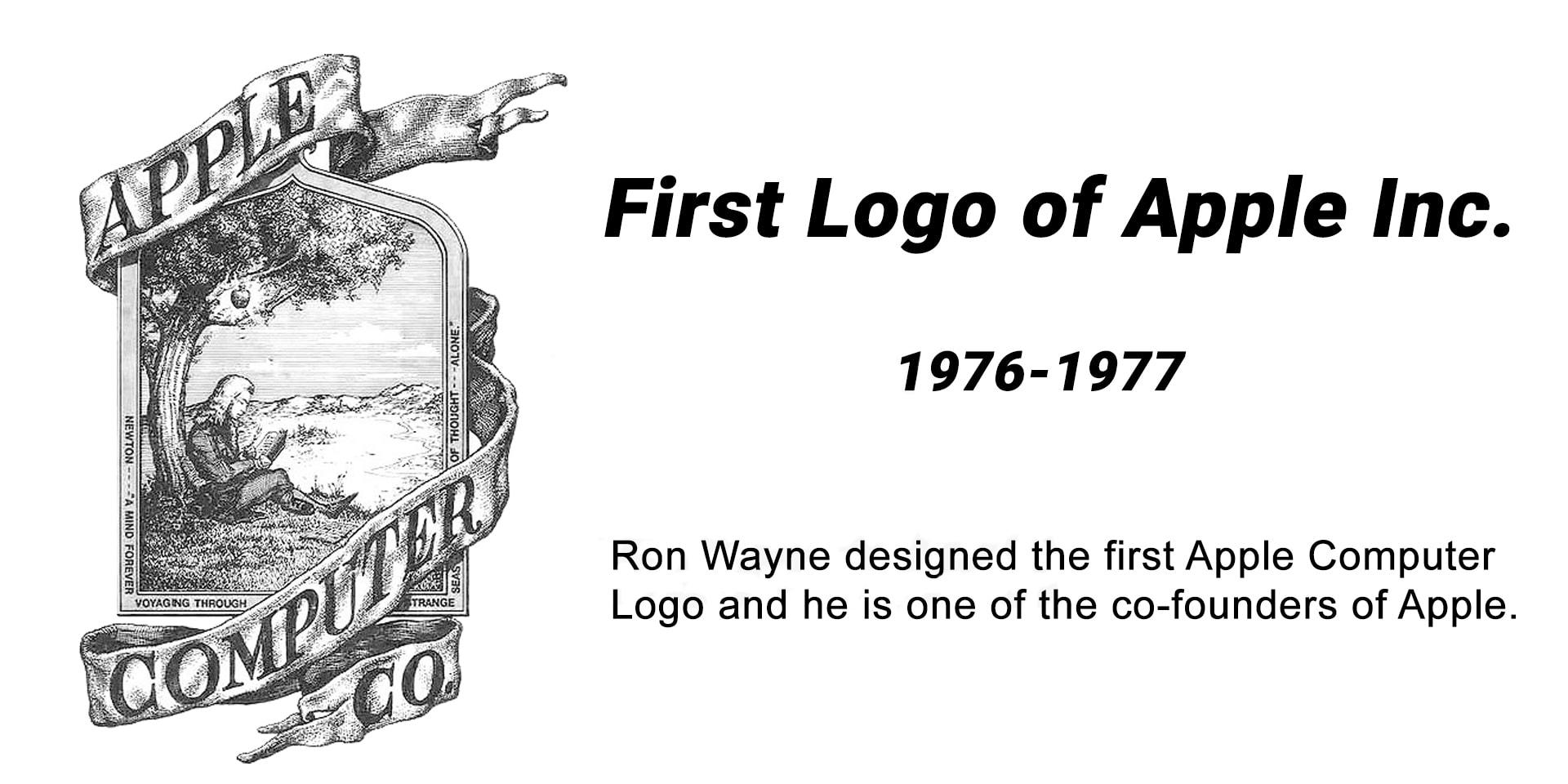 اولین طراحی لوگو اپل