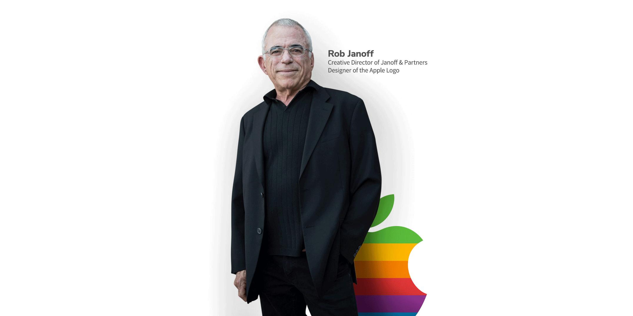 راب جانوف طراح لوگو مشهور اپل